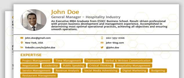 10 Best CV Formats | Ethiopian Reporter Jobs | Ethiojobs